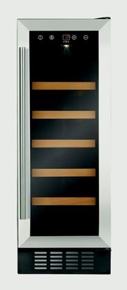 Picture of CDA Slim Line Wine Cooler Stainless Steel 300mm