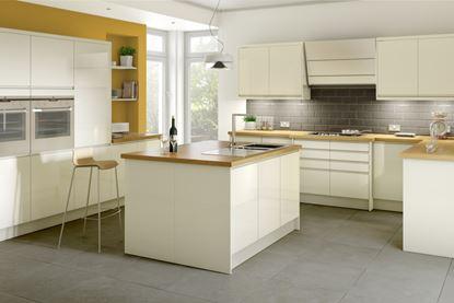 Picture of Gower Rapide Capri Cream Appliance Fascia B 600x1244mm