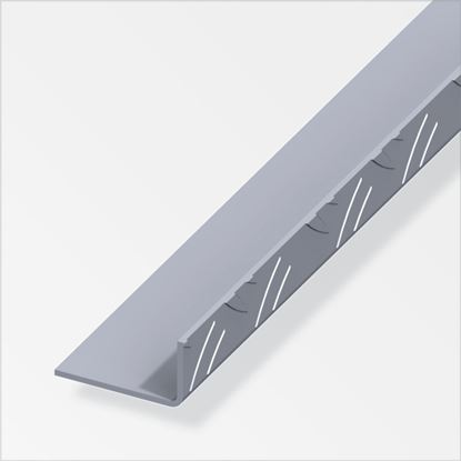 Picture of Alfer Angle Checkerplate Aluminium 23.5mm x 43.5mm x 2.5m