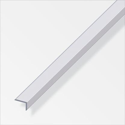 Picture of Alfer Edge Protecting Profile Aluminium 14mmx10mmx1m