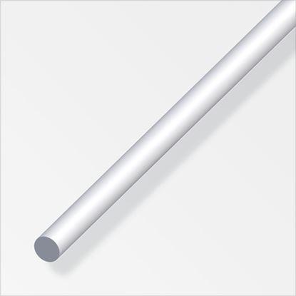 Picture of Alfer Round Bar Anodised Aluminium 4mmx1m