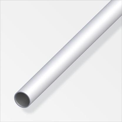 Picture of Alfer Round Tube Anodised Aluminium 12mmx1m
