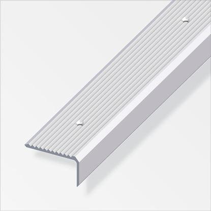 Picture of Alfer Step Edging Aluminium Silver 41mmx23mmx2m