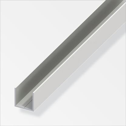 Picture of Alfer U White PVC 15.5mmx15.5mmx1m