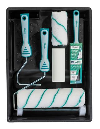 Picture of Harris Blade Decorating Kit Incl. 1x 2 Brush  3x Roller Sleeves
