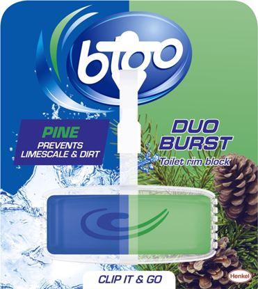 Picture of Bloo Duo Burst Toilet Rim Block Pine 40g