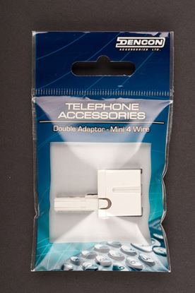 Picture of Dencon 2 Way Telephone Adaptor Ind. Display Pack