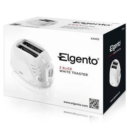Picture of Elgento 2 Slice Toaster 700w