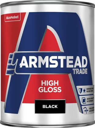 Picture of Armstead Trade High Gloss 1L Black