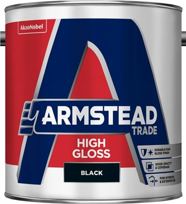 Picture of Armstead Trade High Gloss 2.5L Black