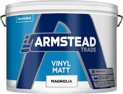 Picture of Armstead Trade Vinyl Matt 10L Magnolia