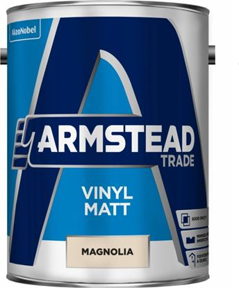 Picture of Armstead Trade Vinyl Matt 5L Magnolia