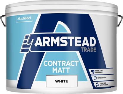 Picture of Armstead Trade Contract Matt 10L White
