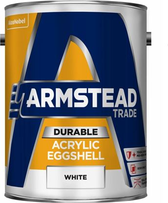 Picture of Armstead Trade Durable Acrylic Eggshell 5L White