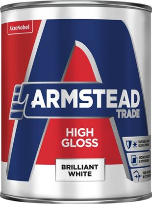 Picture of Armstead Trade High Gloss 1L Brilliant White