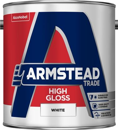 Picture of Armstead Trade High Gloss 2.5L White
