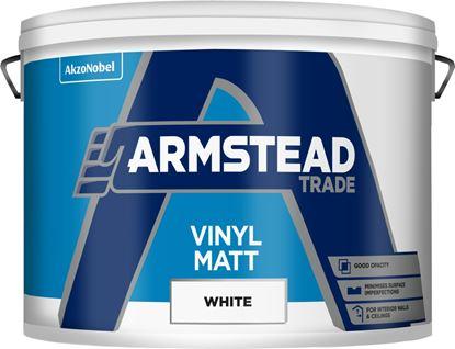 Picture of Armstead Trade Vinyl Matt 10L White