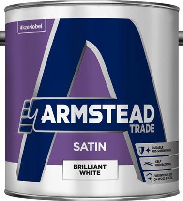 Picture of Armstead Trade Satin Brilliant White 2.5L