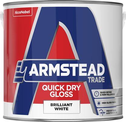 Picture of Armstead Trade Quick Dry Gloss 2.5L Brilliant White