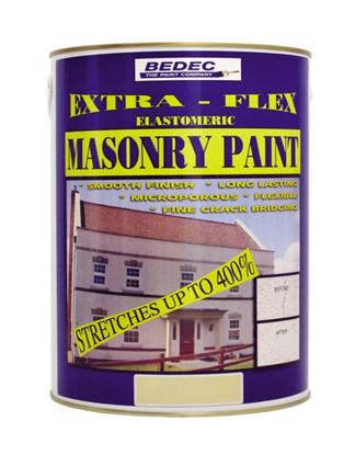 Picture of Bedec Extra Flex Masonry 5L French Grey