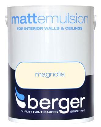 Picture of Berger Matt Emulsion 2.5L Magnolia