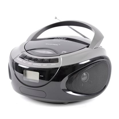 Picture of Lloytron Portable Stereo CD Player With 2 Band Radio Silver