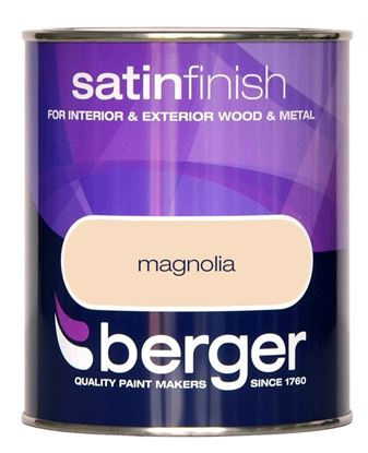 Picture of Berger Satin Sheen 750ml Magnolia