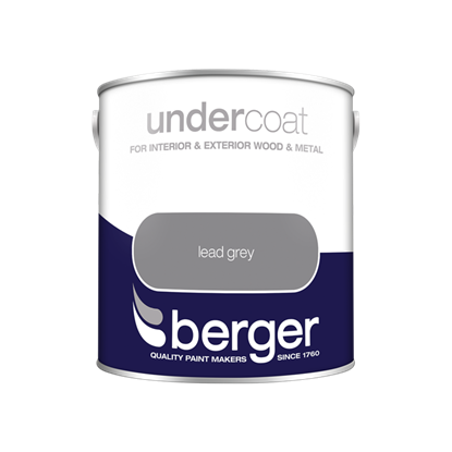 Picture of Berger Undercoat 2.5L Lead Grey