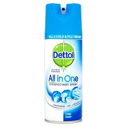 Picture of Dettol Disinfectant Spray 400ml Crisp Linen