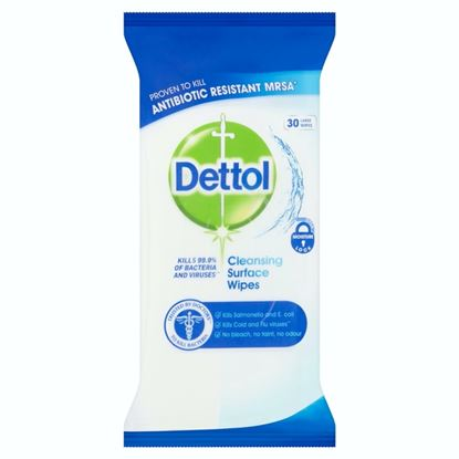 Picture of Dettol Surface Wipes Pack 30