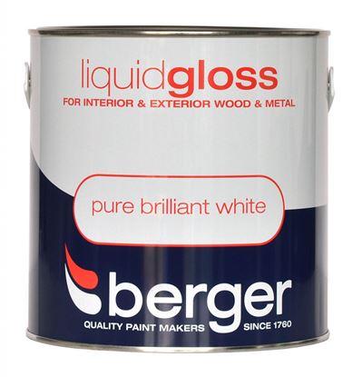 Picture of Berger Liquid Gloss 2.5L Pure Brilliant White