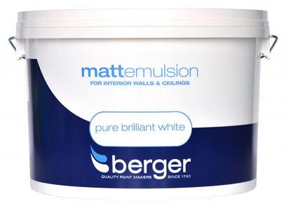 Picture of Berger Vinyl Matt 10L Pure Brilliant White