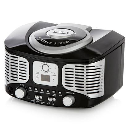 Picture of Akai Retro Bluetooth CD Boombox Black