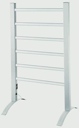 Picture of Kingavon Portable Aluminium Heated Towel Rail 100w