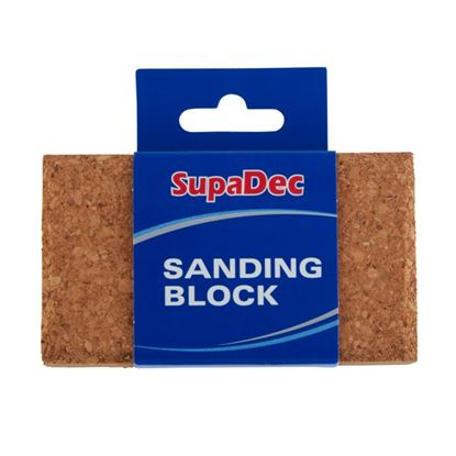 Picture of SupaDec Decorator Cork Sanding Block