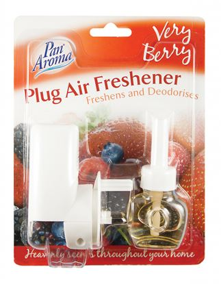Picture of Pan Aroma Plug In Freshener Very Berry