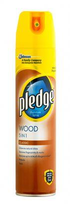 Picture of Pledge 5 In 1 Aerosol Wood Original 250ml