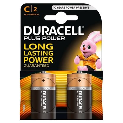 Picture of Duracell Alkaline Batteries C