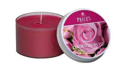 Picture of Prices Candle Tin Damson Rose