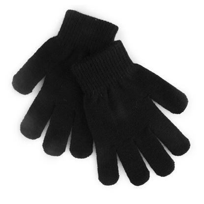 Picture of RJM Kids Thermal Magic Gloves Black