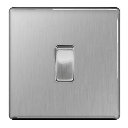 Picture of BG Light Switch 10ax Plate Switch