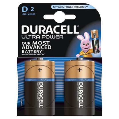 Picture of Duracell Ultra Power D Size