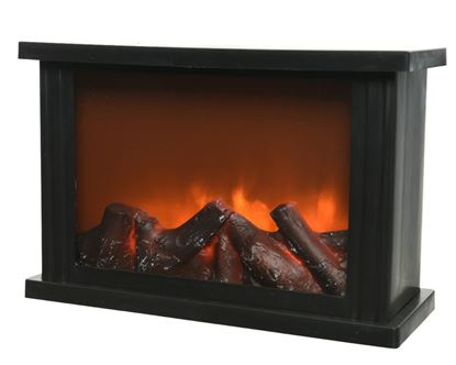 Picture of Kaemingk LED Fireplace Flame Lantern