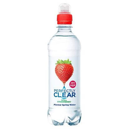 Picture of Perfectly Clear Strawberry Water 500ml x 12