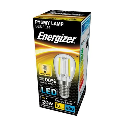 Picture of Energizer Filament LED Pygmy E14 2w 3000k