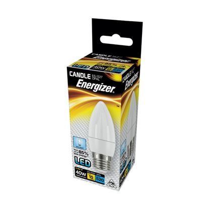 Picture of Energizer LED Candle 520lm Opal E27 Daylight 6500k