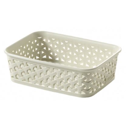 Picture of Curver My Style Rattan Tray Vintage White A6