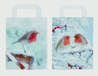 Picture of Premier Snowy Robin Foldaway Shopping Bag 45x35