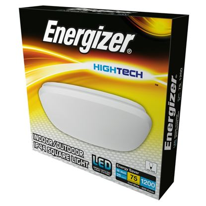 Picture of Energizer LED 300mm Square Light IP44 16w 4000k