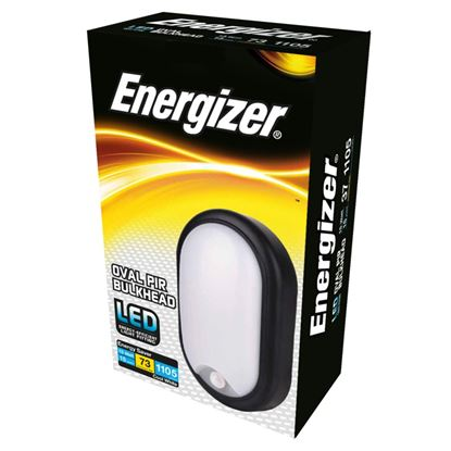 Picture of Energizer LED PIR Oval Bulkhead IP54 15w 4000k